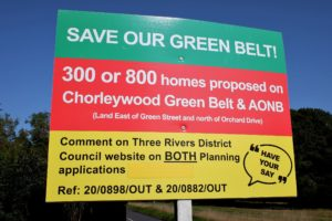 Save Our Green Belt Poster